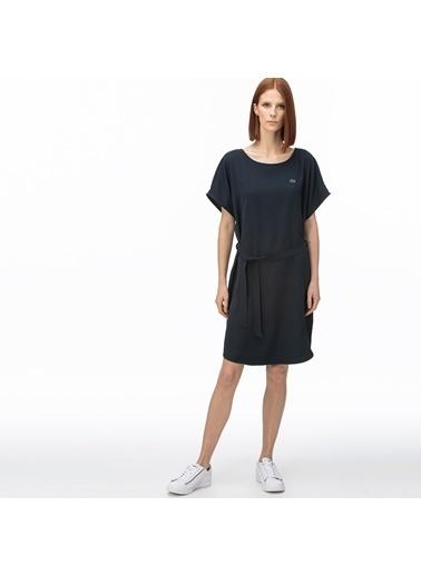 Lacoste Kadın Kayık Yaka Elbise EF0012.12L Lacivert